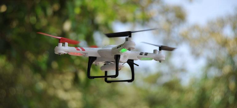 Квадрокоптер высота полета