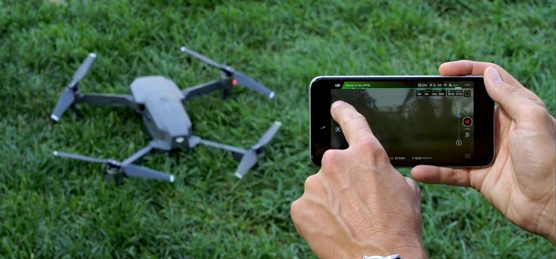 Квадрокоптер с камерой: управление с телефона