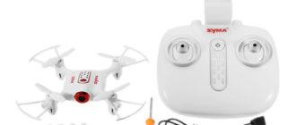 SYMA X22W Обзор Квадрокоптер для начинающих плюсы и минусы
