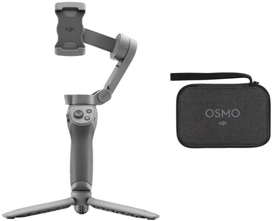 Стабилизатор DJI Osmo Mobile 3 combo плюсы и минусы
