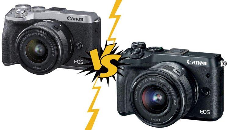 Canon EOS M6 Mark II vsEOS M6 Сравнение фотоаппаратов