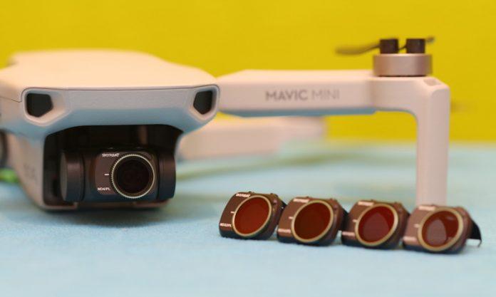 Фильтры ND для DJI Mavic Mini что это такое и какие выбрать