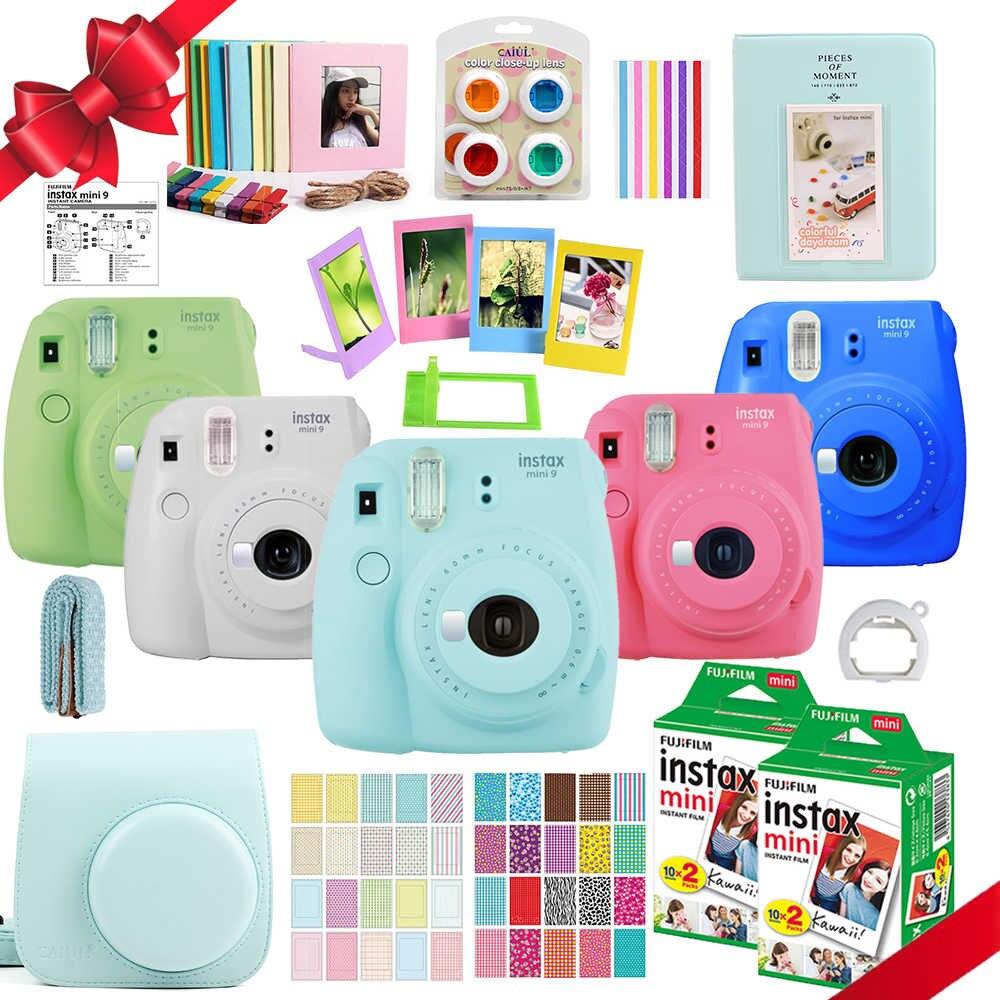 Фотоаппарат моментальной печати FujifilminstaxMini9 Обзор и отзывы владельцев
