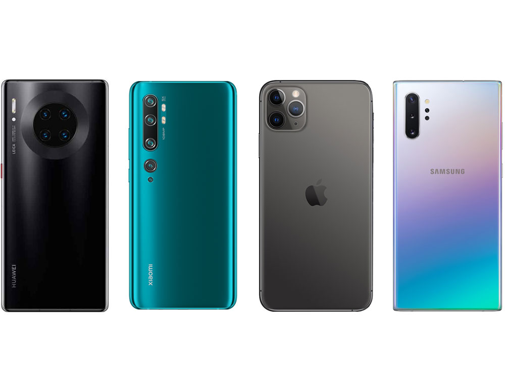 Рейтинг смартфонов с лучшей камерой 2020 года