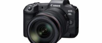 Canon раскрывает новые характеристики EOS R5