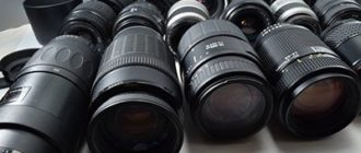 Как правильно выбрать объектив для фотоаппарата и для видео