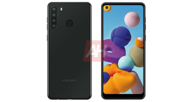 Первое изображение Samsung Galaxy A21