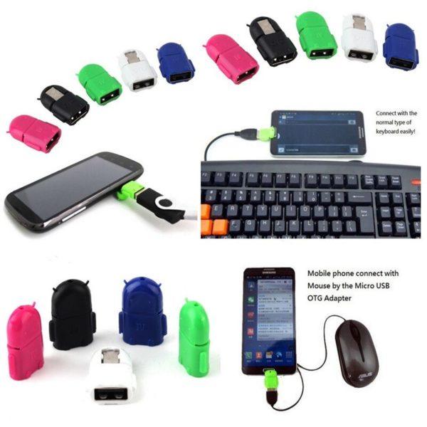 Как подключить USB-клавиатуру или мышь к телефону