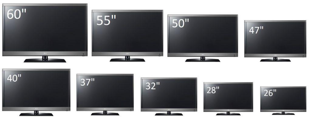 Как выбрать небольшой телевизор по диагонали