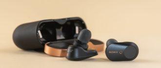 Обзор, характеристи, отзывы Sony WF-1000XM3