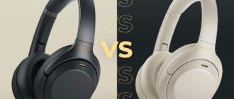 WH-1000XM4 vs WH-1000XM3 сравнения и отличия