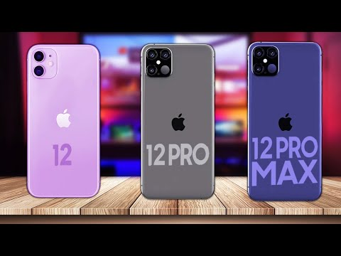iPhone 12 Mini, iPhone 12, iPhone 12 Pro или iPhone 12 Pro Max Какой выбрать