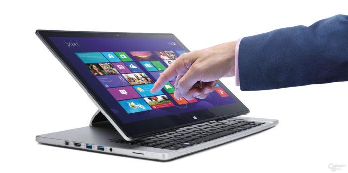 Обзор лучших ноутбуков с сенсорным экраном