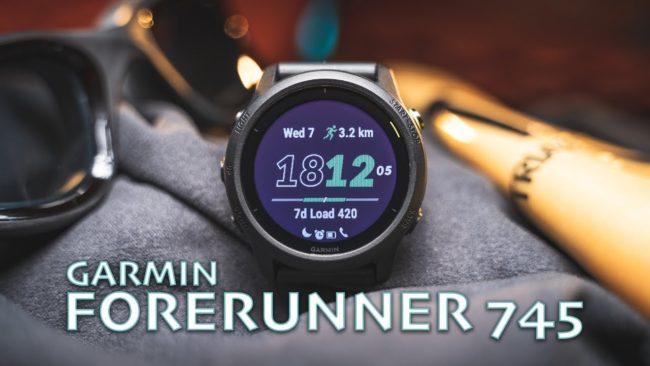 Умные часы Garmin Forerunner 745 отзывы, обзор