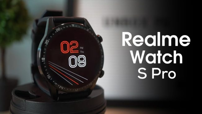 Realme Watch S Pro обзор, характеристики, отзывы