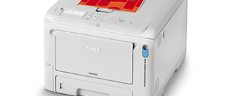 OKI C650 обзор принтера