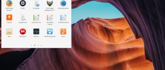 рабочее окружения для рабочего стола linux