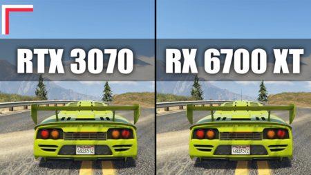 какая видеокарта лучше RTX 3070 или RX 6700 XT